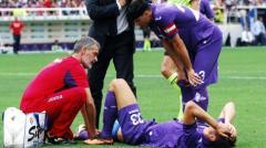 L'infortunio di Mario Gomez con il Cagliari a settembre