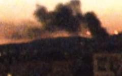 Tramonto con incendio a Firenze ovest (VIDEO)
