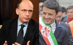 Renzi - Letta: un derby toscano