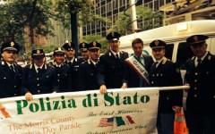 Columbus Day, l'abbraccio tra poliziotti italiani e americani