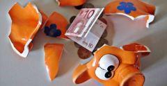 Crisi, stop al risparmio