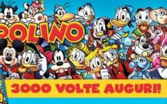 Festa a Lucca Comics per i tremila numeri di Topolino