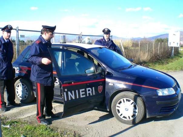 I carabinieri di Campi arrestano ladri di abiti