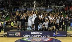 La Mens Sana Siena vince la Supercoppa di basket 2013-2014