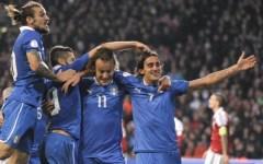Nazionale: Danimarca-Italia 2-2, pareggio di Aquilani al 91'