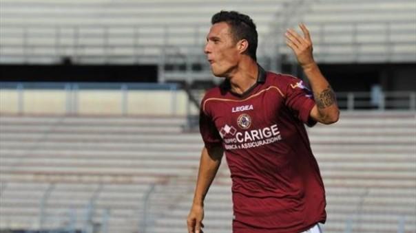 Luca Siligardi attaccante del Livorno
