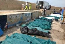 Cadaveri di migranti annegati al largo di Lampedusa