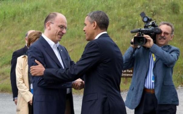 Letta ad Obama, invito in Toscana a Pisa
