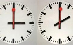 Torna l'ora solare: orologi indietro di un'ora
