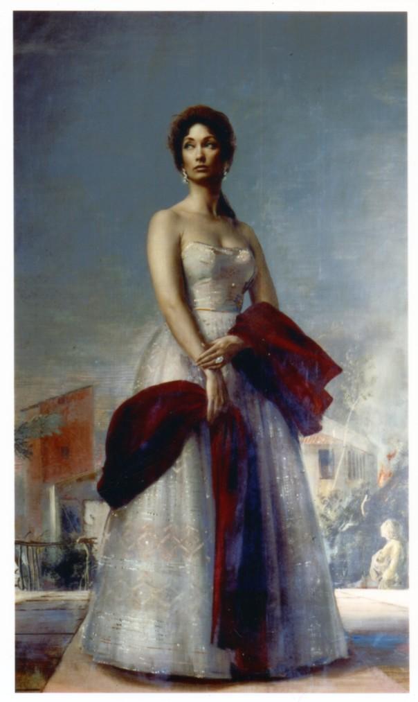 Il dipinto di Annigoni
