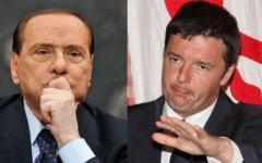 Berlusconi attacca Renzi, il sindaco incontra Letta