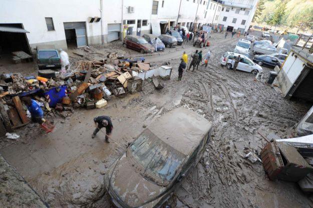 La tragica alluvione dell'ottobre 2011 ad Aulla
