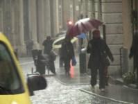Attesa pioggia forte in Toscana