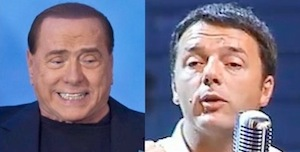 Berlusconi e Renzi 300x150