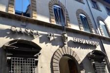 La sede dell'Ente Cassa di Risparmio Firenze
