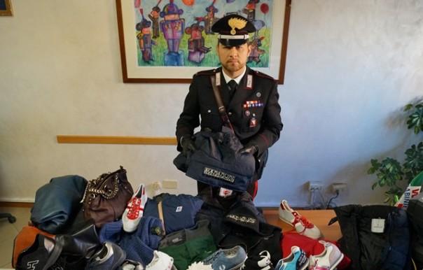 I falsi scoperti dai carabinieri