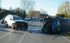 Incidente stradale, frontale a Tassignano