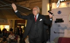 Pippo Baudo in Tribunale a Pistoia