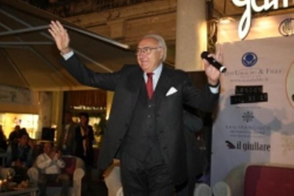 Il presentatore Pippo Baudo