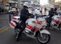La Polizia municipale sequestra furgone con scarti tessili
