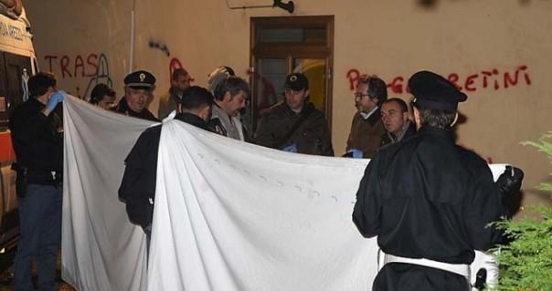L'area di Pionta ad Arezzo dove si è consumato l'omicidio