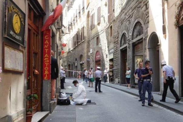 L'omicidio di via della Condotta a Firenze del 18 luglio