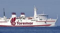 Mare mosso, non salpa il traghetto per Capraia