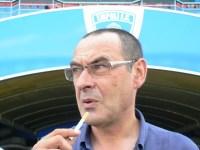Il tecnico dell'Empoli, Maurizio Sarri