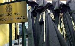 Giudici di pace in sciopero: protestano contro il governo per il riconoscimento dei loro diritti