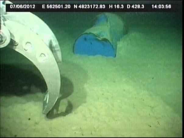 198 bidoni tossici, avvenne il 17 dicembre 2011 al largo di Livorno