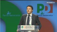 Matteo Renzi incoronato segretario Pd all'assemblea nazionale del partito