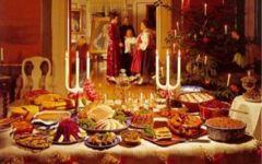 Natale: il pranzo resiste alla crisi, si spende solo per la tavola
