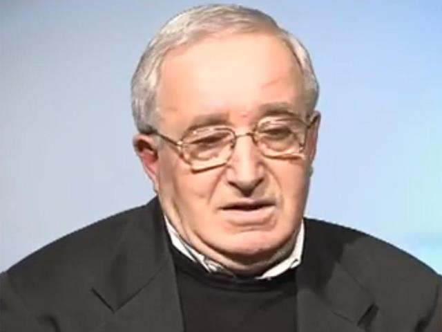 Don Aldo Celli parroco della Santissima Annunziata di Arezzo