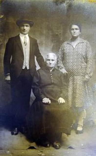 Giocondo ed  Annina Marconi di Anghiari