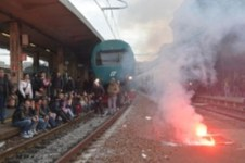 La protesta dei Forconi a Genova Brignole