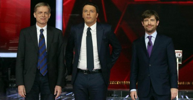 La sfida è tra Cuperlo, Renzi e Civati