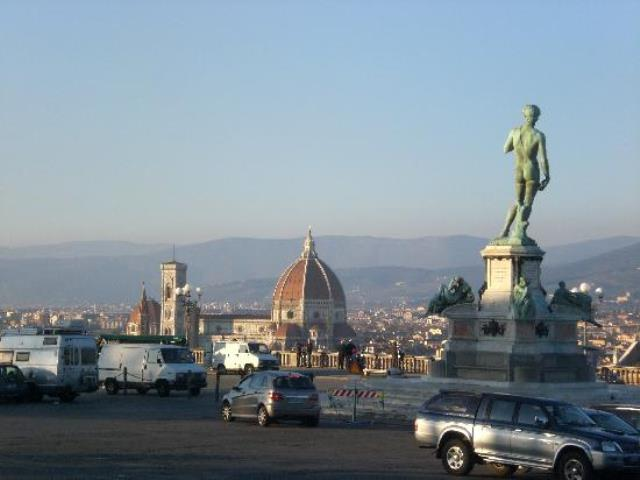 Piazzale Michelangelo a Firenze