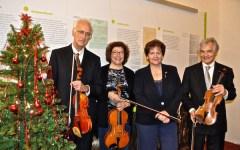 Applaudito concerto di Natale alla «Dante Alighieri»