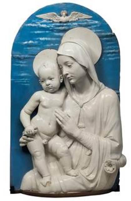 Una delle opere contenute nellOspedale di Santa Maria Nuova