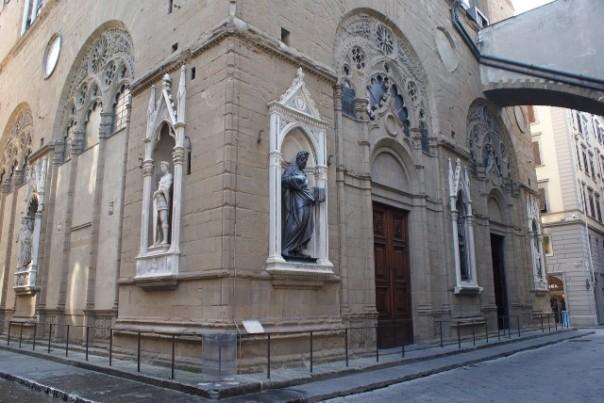 La chiesa di Orsanmichele a Firenze