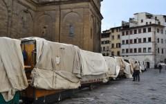 San Lorenzo, sale la tensione tra ambulanti e Comune di Firenze