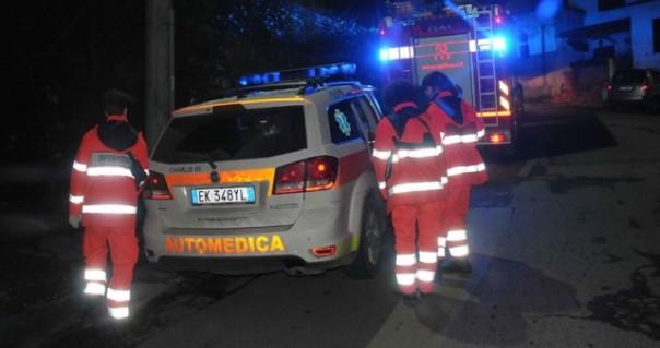 Vigili del fuoco e 118 ma per l'anziano non c'era più niente da fare