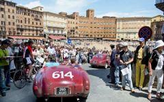 Il rombo delle 1000 miglia attraverso la Toscana