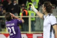 La delusione di Ambrosini per il mancato gol