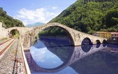 Il Ponte della Maddalena a Borgo a Mozzano