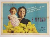 Un manifesto storico della Festa Donna: oggi le celebrazioni si spostano su Wikipedia