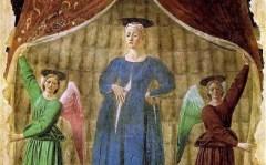 La Madonna del Parto di Piero della Francesca a Monterchi comparirà nelle maternità della Toscana