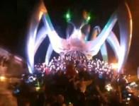 La Rete è il carro vincite al carnevale di Viareggio 2014