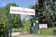 I Canottieri Comunali sul Lungarno Ferrucci