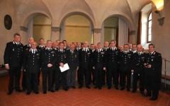 Carabinieri, il generale Del Sette premia 43 militari meritevoli